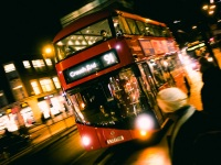 Night Bus, London