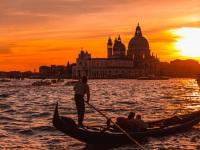 Canal Sunset, Venice